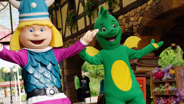 Tabaluga und Wickie im Holiday Park