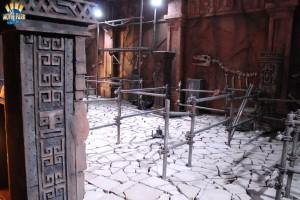 The Lost Temple Baustelle im Juni 2014