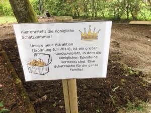 Königliche Schatzkammer - Baustelle im Traumland