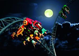 Karacho in Tripsdrill bei Nacht