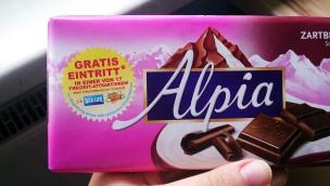 Merlin Attraktionen 2-für-1 Gutscheine 2014 mit Alpia Schokolade