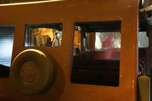 Bus Hinteransicht - The Lost Temple Eröffnung