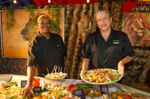 Südafrikanische Köche im Europa-Park