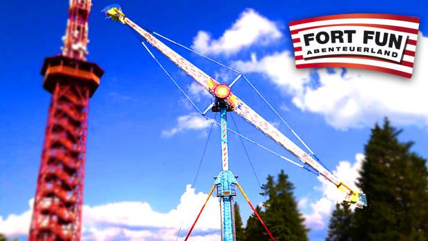 Turbo Force im Fort Fun Abenteuerland