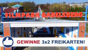 Filmpark Babelsberg: Freikarten-Freitag #10 – Gewinne 3×2 Eintrittskarten!