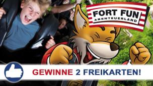 Fort Fun Abenteuerland: Freikarten-Freitag #8 – Gewinne 2 Eintrittskarten!