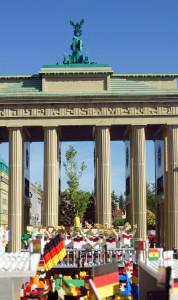 Fußball-Fanmeile im Legoland Deutschland