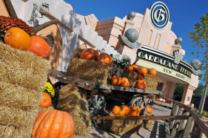 Gardaland Halloween Dekoration