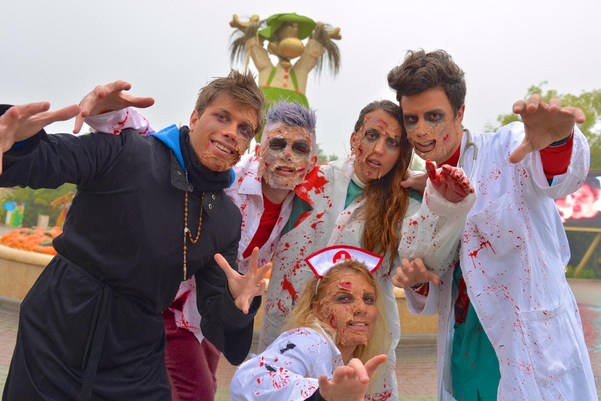 Gardaland Halloween Gruppe