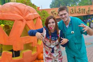 Gardaland Halloween Verkleidung