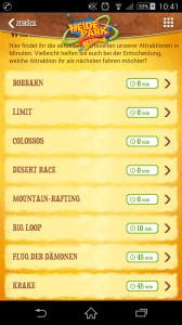 Heide-Park App mit Wartezeiten