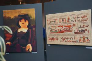 Playmobil Mona Lisa und Teppich von Bayeux