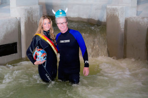 Plopsaland De Panne - Plopsaqua - Erstes Wasser mit Miss Belgien