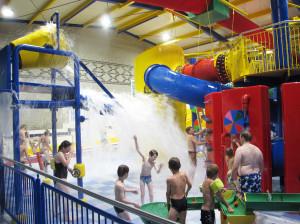 Topas Wasserspielplatz in Schloss Dankern