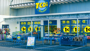 TEDI 1-Euro-Discounter