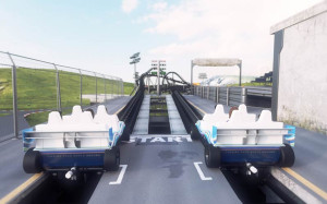 Vekoma Racing Coaster Start