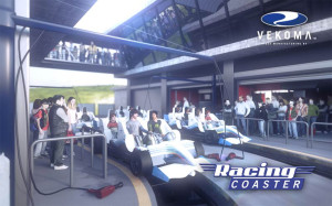 Vekoma Racing Coaster Station