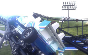 Vekoma Racing Coaster Track