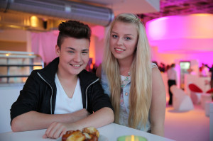 Belantis - The Voice Kids-Kandidaten Richard und Jasmin
