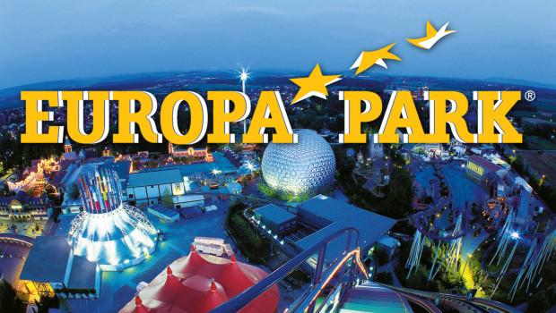 Europa-Park bei Nacht