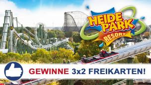 Heide Park Resort: Freikarten-Freitag #13 – Gewinne 3×2 Eintrittskarten!