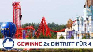 BELANTIS Freizeitpark: Freikarten-Freitag #12 – Gewinne 2× Eintritt für 4!