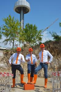 Grundstein für neue Achterbahn 2015 im Gardaland