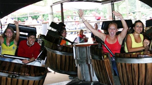 Holiday Park Spinning Barrels