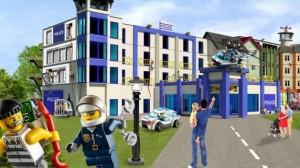 Legoland Deutschland - Lego City Hotel Entwurf