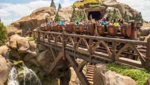 """Feuer und Evakuierung bei """"Seven Dwarfs Mine"""" in Walt Disney World Florida"""