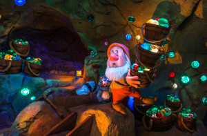 Seven Dwarfs Mine Indoor in Disney World Florida
