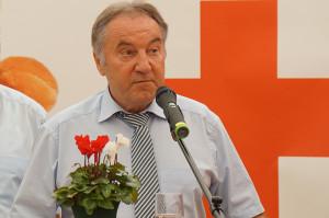 Tripsdrill Blutspende 2014 -Eröffnung durch Helmut Fischer