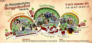 Burggrabenfest 2014 in Nürnberg