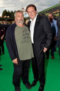 Luc Besson und Michael Mack