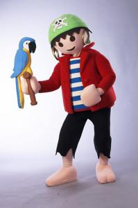 Rico das Playmobil-FunPark Maskottchen