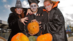 Skyline Park lädt zum Familien-Halloween 2015 an Oktober-Wochenenden ein