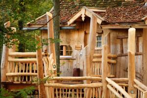 Baumhaus Fichtenblick im Erlebnispark Tripsdrill