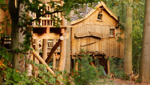 Erlebnispark Tripsdrill Natur-Resort soll noch 2016 um acht Baumhäuser erweitert werden