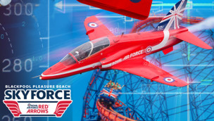 Blackpool Pleasure Beach kündigt Sky Fly in Kooperation mit Red Arrows an