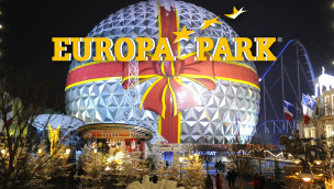 Europa-Park im Winter