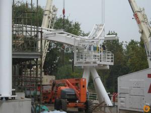 Gardaland Dive Coaster Baustelle 1
