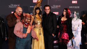 """Europa-Park feierte 2014 erste """"Horror Glam Night"""" mit Promis"""