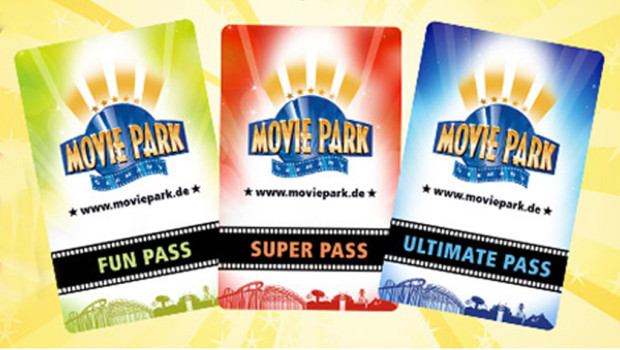 Movie Park Germany Saisonkarten 2015