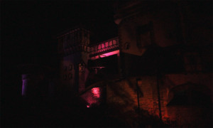 Tripsdrill Burg Rauhe Klinge bei Nacht