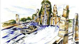 Belantis Wildwasserbahn 2015 Artwork