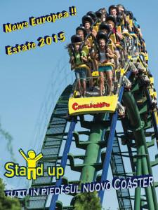 Cavallino Matto Stand-Up Coaster 2015