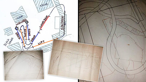 Chiapas Modell Skizzen