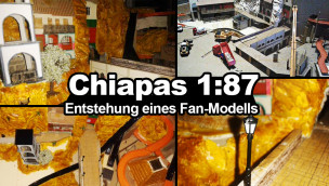Chiapas im Maßstab 1:87 – wie ein beeindruckendes Fan-Modell der Phantasialand-Wasserbahn entsteht