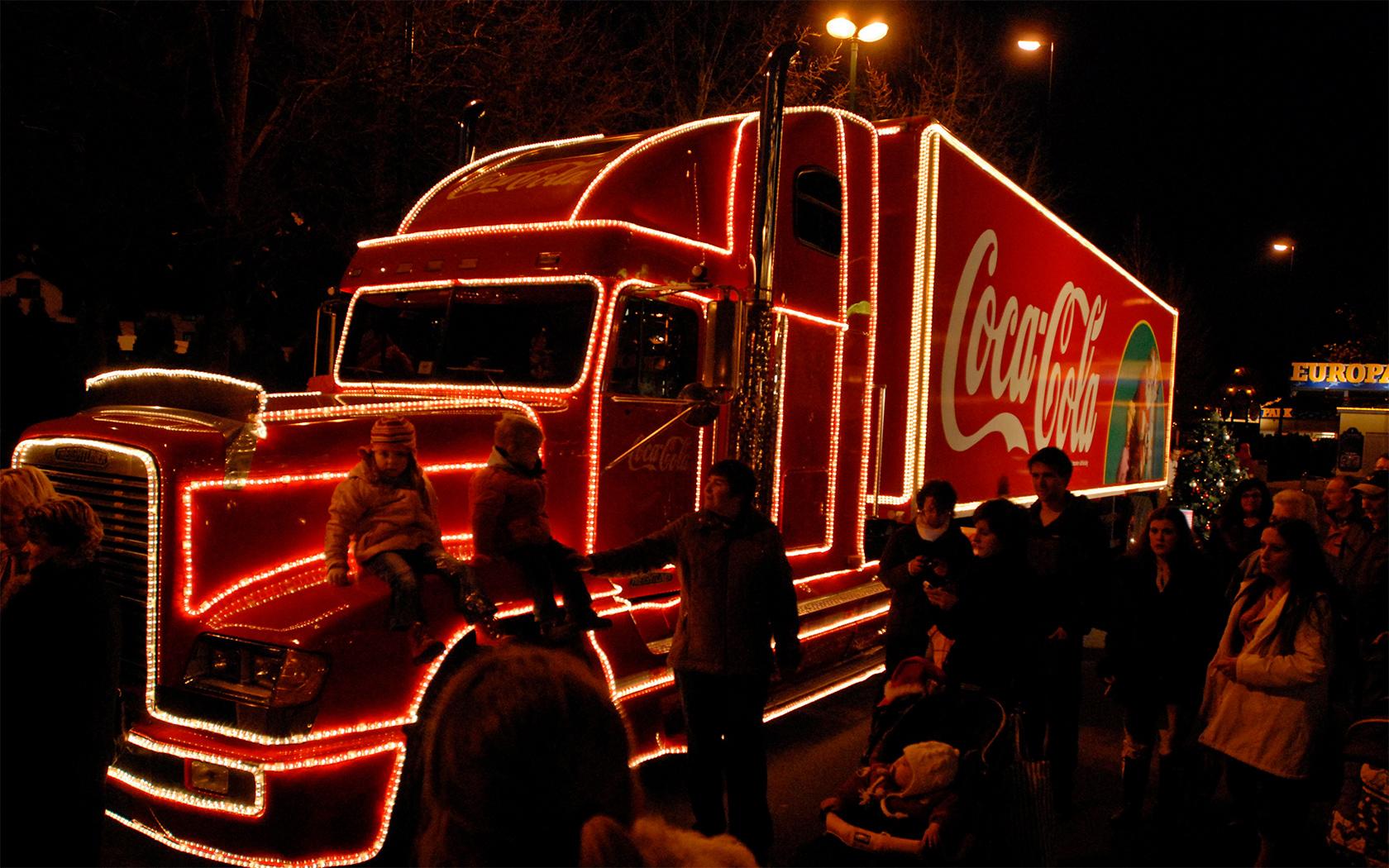 Coca Cola Weihnachten Wallpaper Coca Cola Weihnachtstruck im