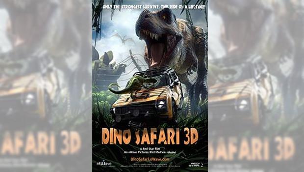 Dino Safari - 4D-Film im Freizeitland Geiselwind 2015